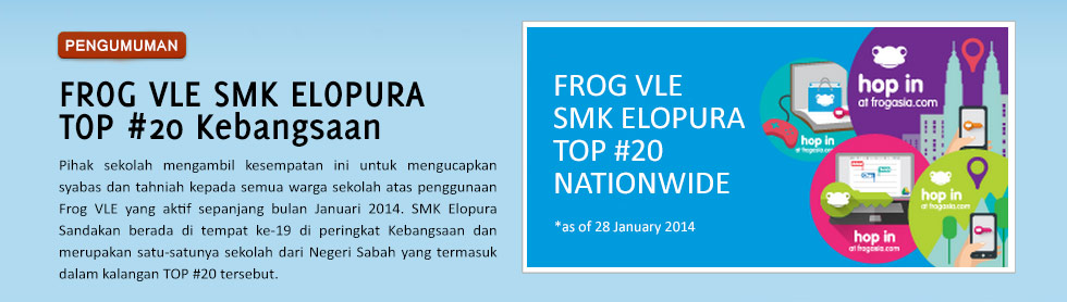 SMKE VLE FROG TOP #20 Januari 2014