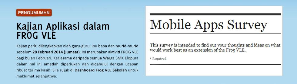 Kajian Aplikasi dalam FROG VLE